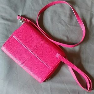 Wallet purse cross body